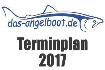 Terminplan 2017 - das Angelboot