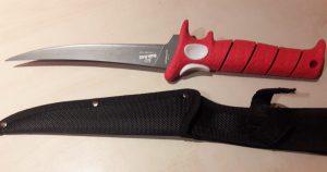 7 inch (ca. 17,78 cm) / schmale Klinge / flexible Klinge