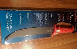 9 inch (ca. 22,86 cm) / breite Klinge / feste oder flexible Klinge verpackt