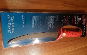 9 inch (ca. 22,86 cm) / schmale Klinge / flexible Klinge verpackt